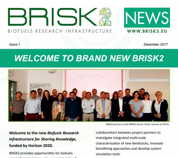 BRISK2 News Issue 1