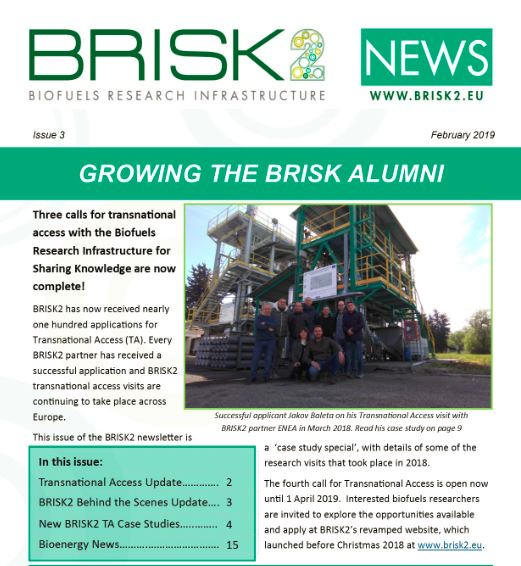 BRISK2 News Issue 3