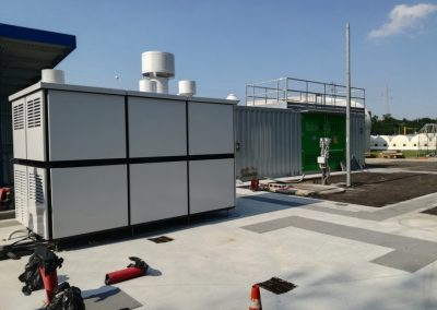 POLITO biogas-fed SOFC-based industrial plant