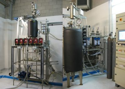 POLITO anaerobic digestion pilot plants (3 stirred digesters available)