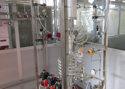 POLITO - 200 Nl/h test unit for catalytic synthetic fuels production
