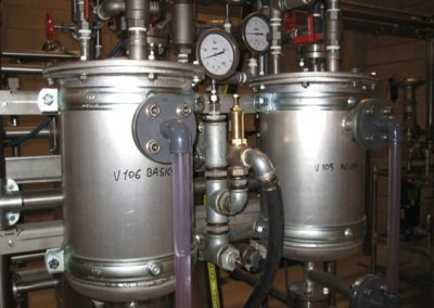 POLITO 115l chemical hydrolysis reactors