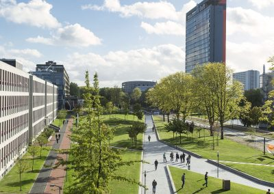 TU Delft campus