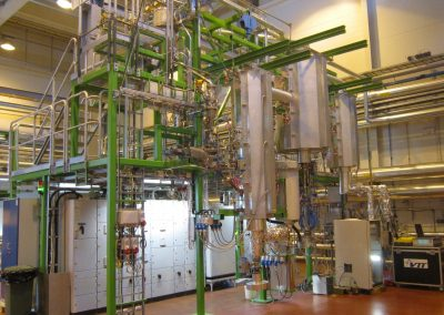 Bench-scale bubbling fluidized-bed gasification test facility (BFB)