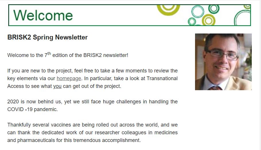 BRISK2 Newsletter